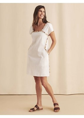 Faherty Jetty Dress White
