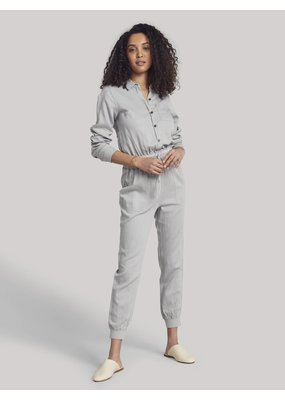 Faherty Arlie Day Jumpsuit Stone