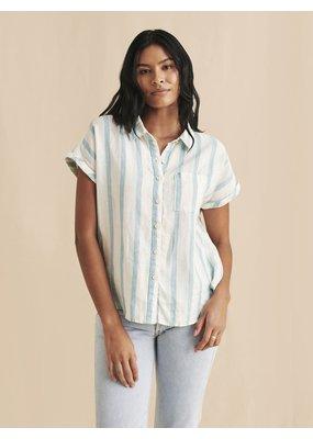 Avery Shirt Ocean Catalina Stripe