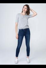 Unpublished Kora Mid Rise Skinny Jean in Blue Star