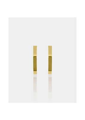 Marrin Costello Hex Hoops Gold