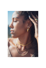 Marrin Costello Layla Hoops Gold