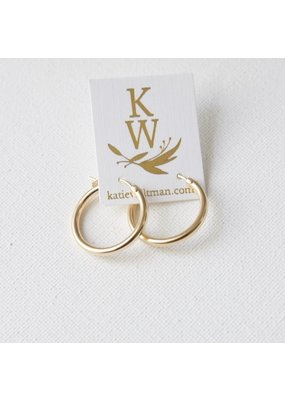 Katie Waltman Jewelry Gold Filled Hoops