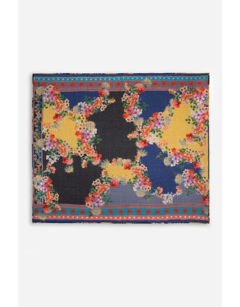 Johnny Was Aura Camelitah Hand Quilted Blanket