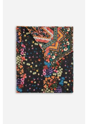 Johnny Was Ellina Edley Hand Quilted Blanket