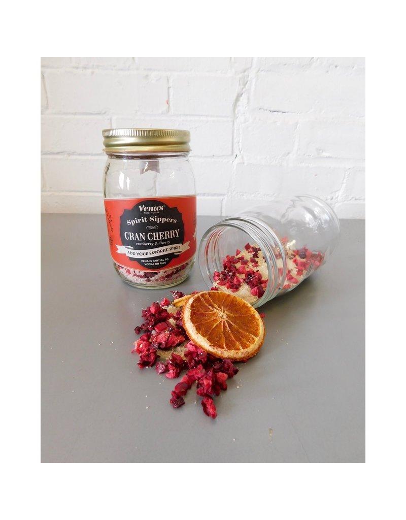 Vena's Fizz House Cran Cherry Spirit Sipper Infusion Jar