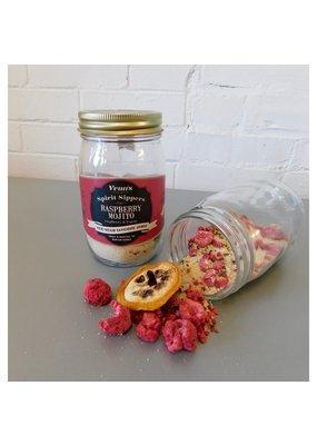 Vena's Fizz House Raspberry Mojito Spirit Sipper Infusion Jar