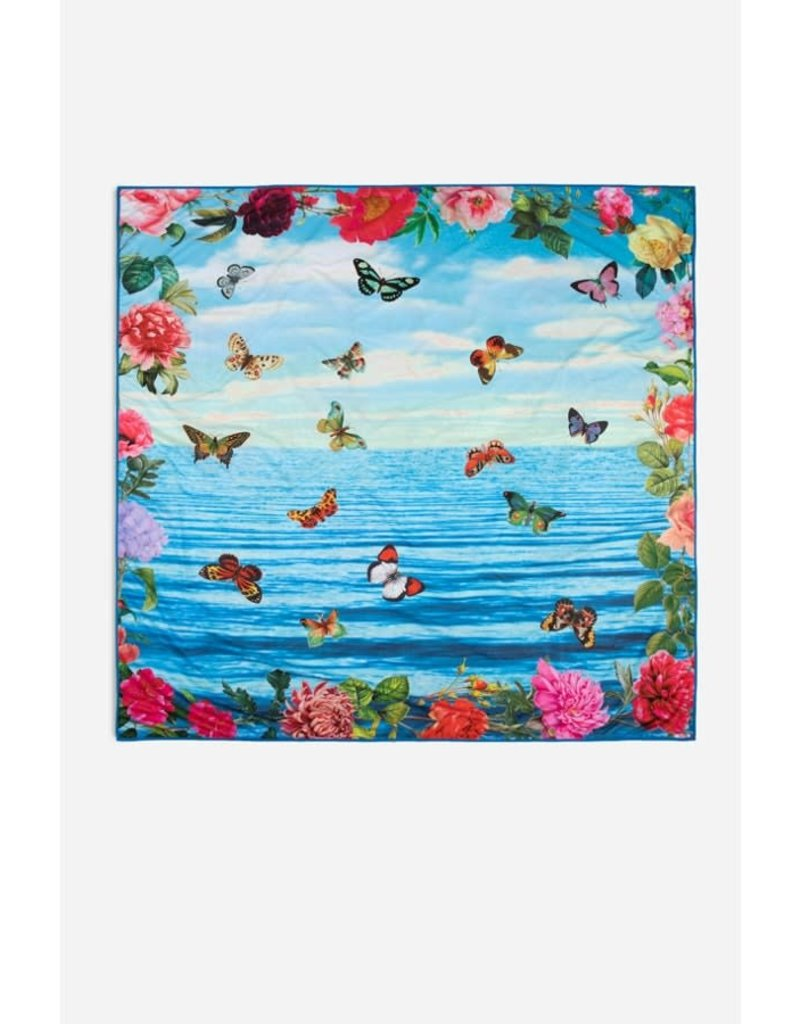 Johnny Was Costa Azul Beach Blanket