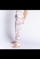 PJ Salvage Retro Rose Jam Pant Antique White