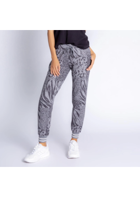 PJ Salvage Patch Perfect Band Pant Charcoal