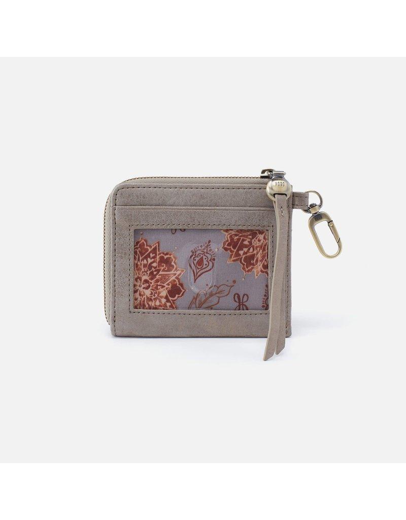 Hobo Bags Flip Go Clip Wallet Metallic Hide