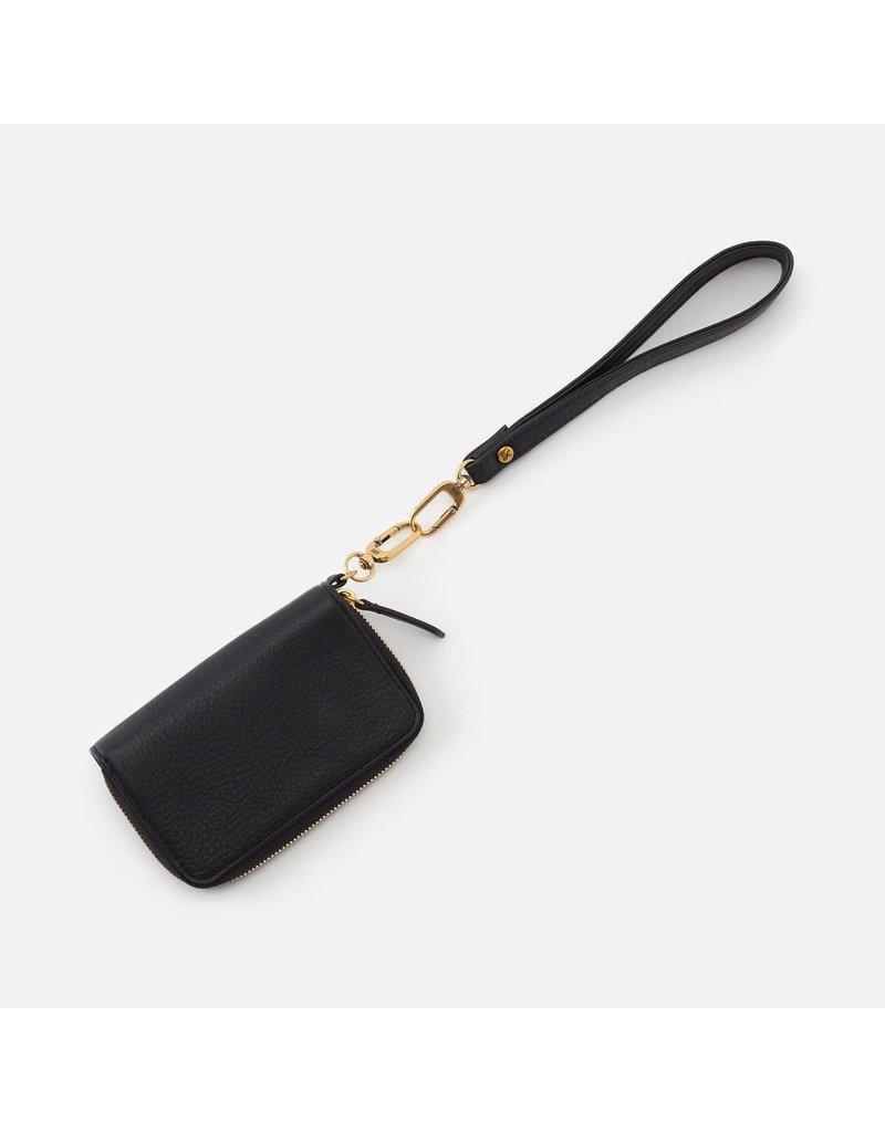 Hobo Bags Grip Wristlet Strap Velvet Hide