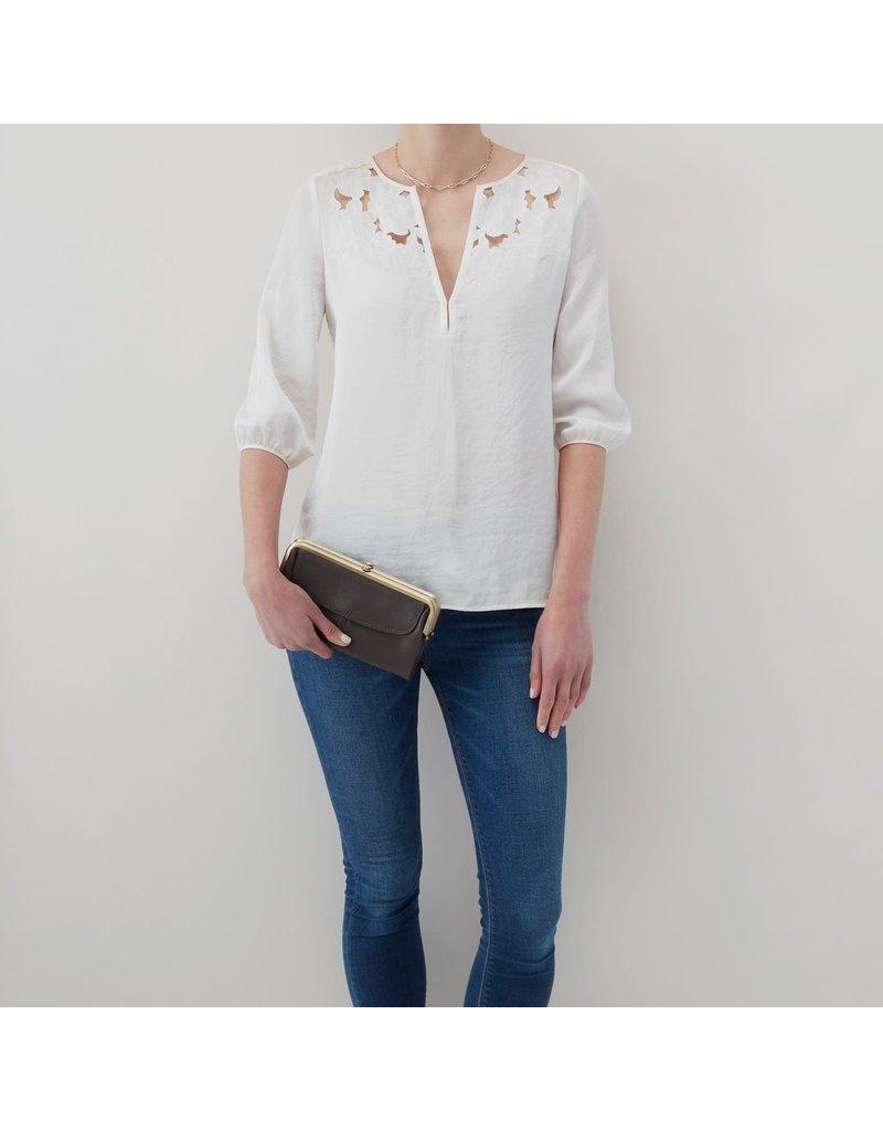 Hobo Bags Lauren Clutch Wallet Velvet Hide