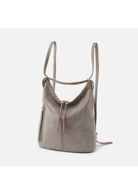 Hobo Bags Merrin Convertible Backpack Metallic Hide
