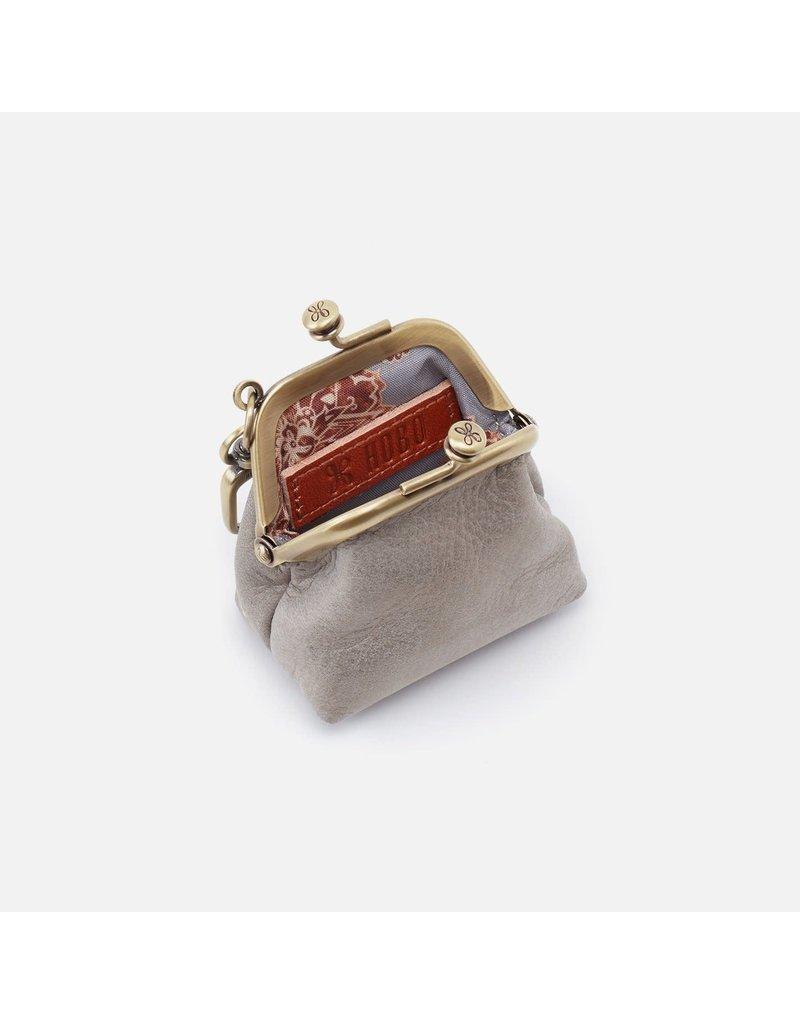 Hobo Bags Run Frame Pouch Metallic Hide