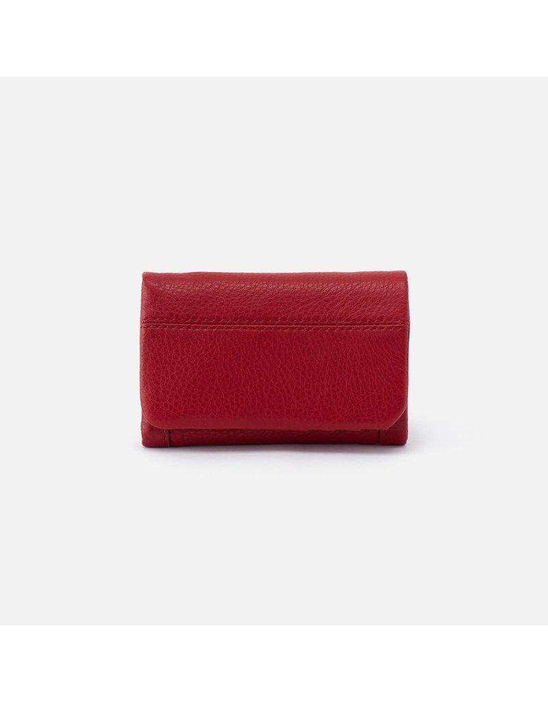 Hobo Bags Jill Trifold Wallet Velvet Hide