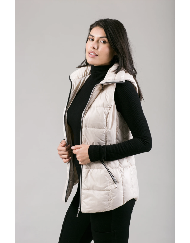 Anorak The Hooded Quilted Vest