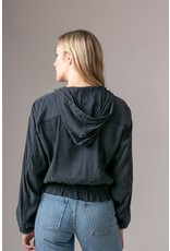 Marrakech Oahu Solid Stretch Cupro Jacket Abyss