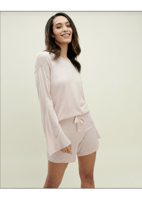 Splendid Talia Sweater Powder Blush