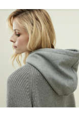Shea Sweater Mix Hood Heather Grey