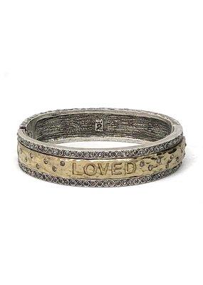 Loved Bangle Vintage Silver