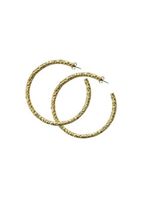 """2"""" Pavia Hoop with Crystals"""