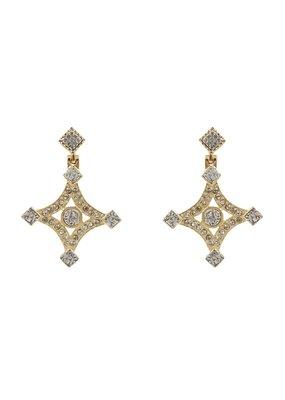 Sahara Earrings 24K Gold