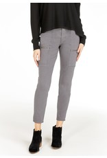 Articles of Society Carlyon Skinny Cargo in Pebble Grey