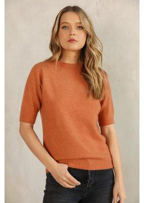Knititude Chloe Short Sleeve Sweater Sienna