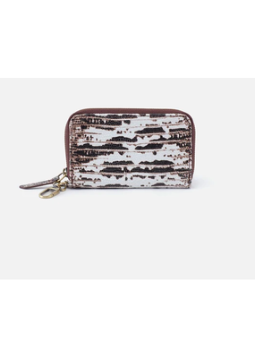 Hobo Bags Move Clip Wallet Printed Hide