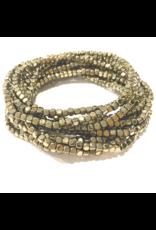 Hematite Stack Gold