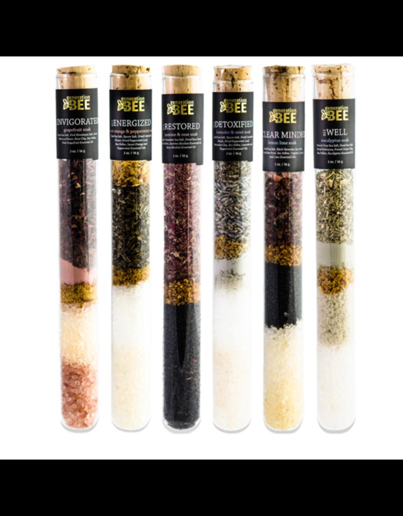 Generation Bee Soaking Salt Vials