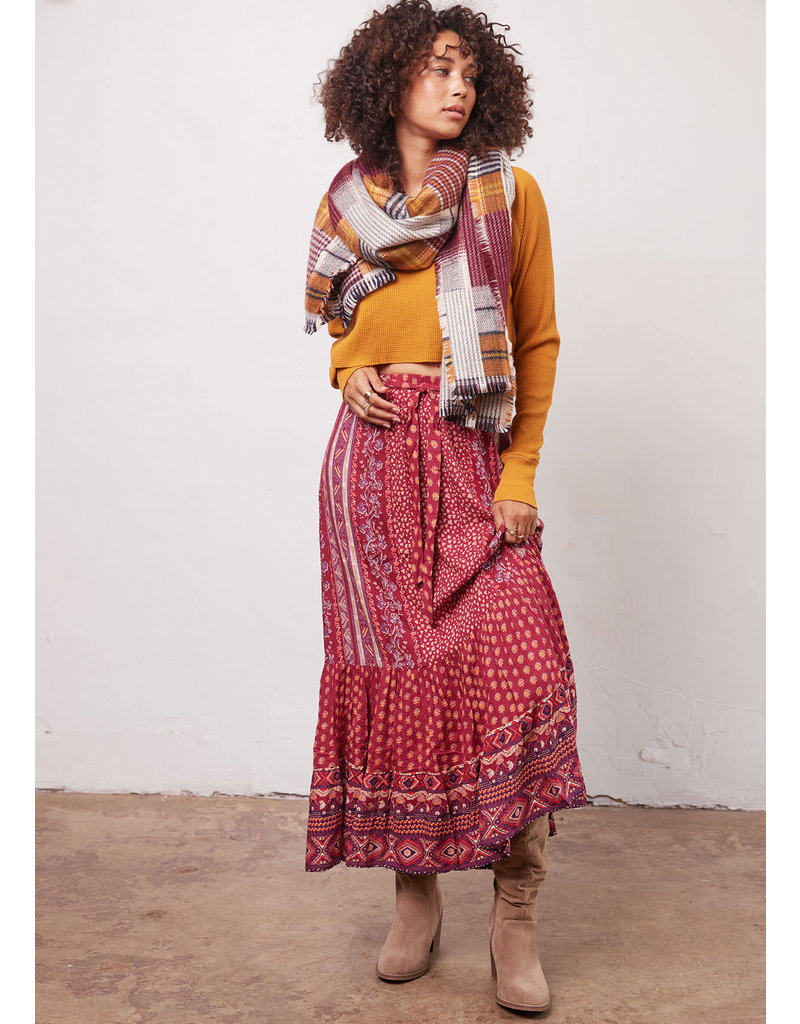 Mirabel Skirt Sangria