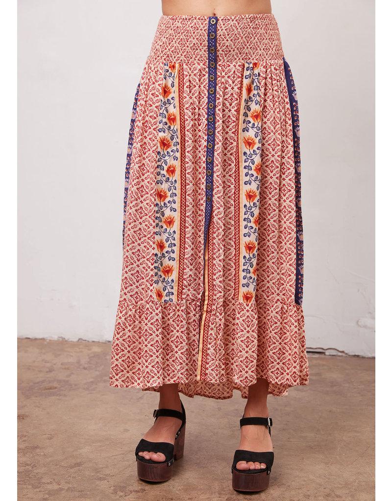 Union Skirt Adobe Print