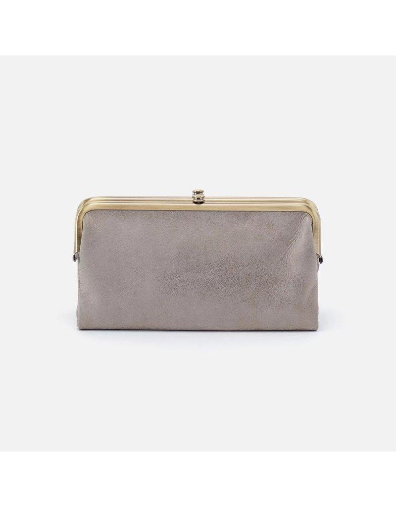 Hobo Bags Lauren Clutch Wallet Metallic Hide