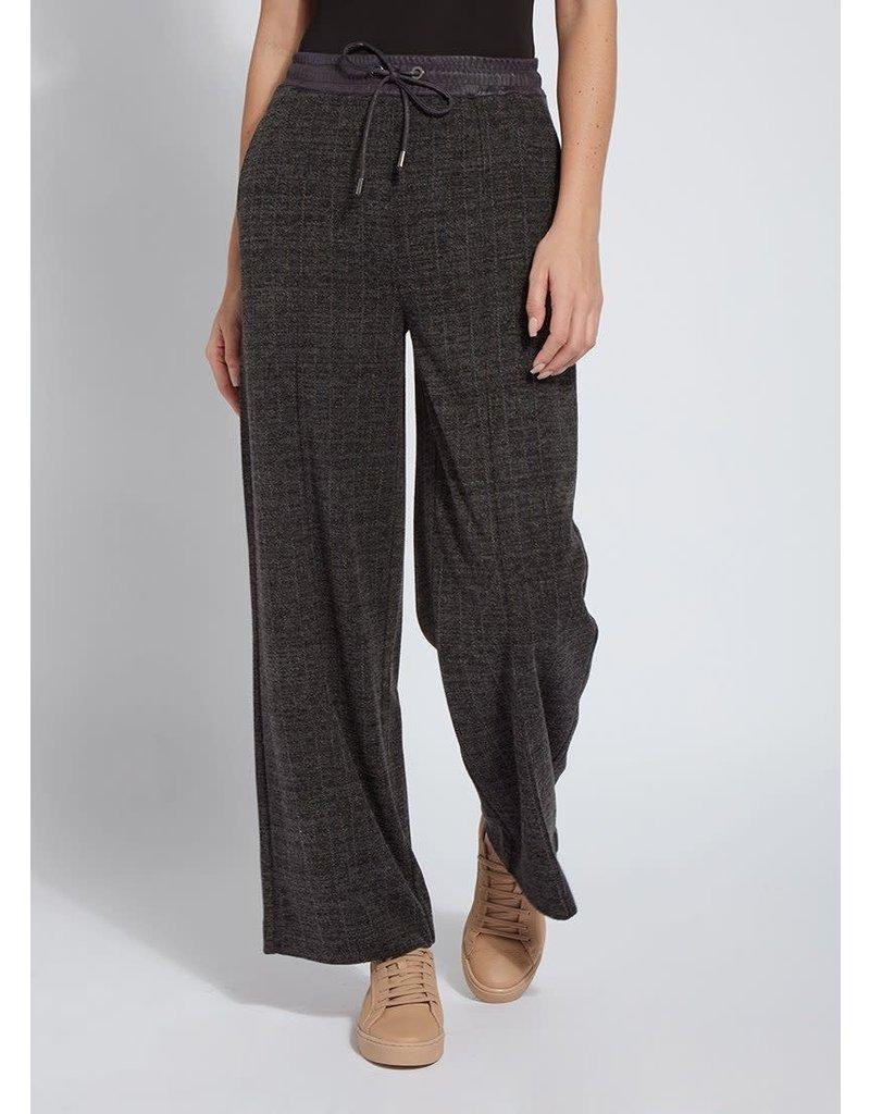Lysse Brushed Pinstripe Wide Leg Pant