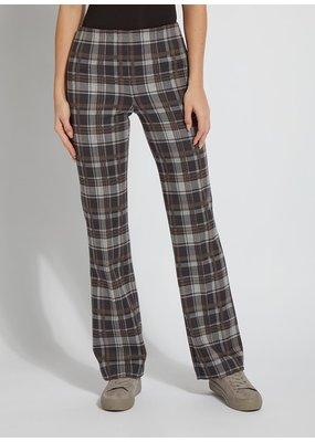 Lysse Street Market Plaid Wide Leg Trouser