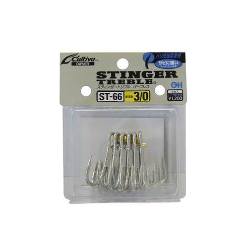 Owner hooks Owner Stinger ST66 treble hook 2/0 4pk