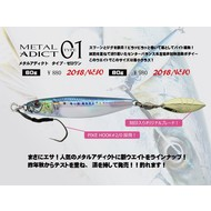 Little Jack lures Little Jack metal adict type-01 80g #01 Blue Sardine/Laser Holo+RP