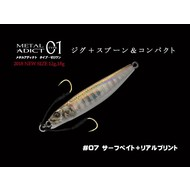 Little Jack lures Little Jack metal adict type-01 18g #07 Surf Bait+RP