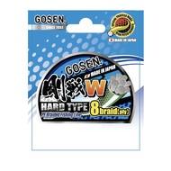 Gosen fishing line GOSEN W light green HardType 8 braid 150m  0.5 PE:0.117 5.3kg