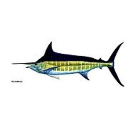 Marlin Catch Flag 12x18