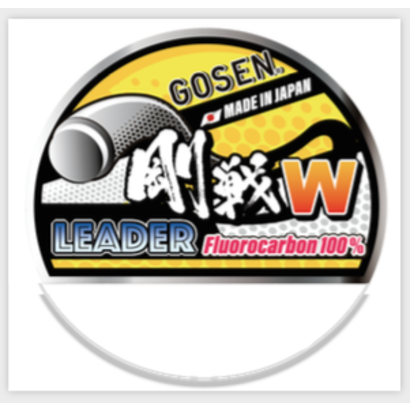 Gosen fishing line GOSEN W LeaderFC Fluorocarbon  20m  0.91 100lb