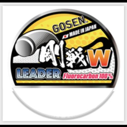 Gosen fishing line GOSEN W LeaderFC Fluorocarbon  30m 0.37 20lb