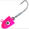 Berkley Nitro Elevator heads 1ozlumo pink 5/0
