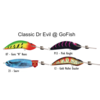 Classic Dr Evil Gold Mullet Dazzler 90mm lure