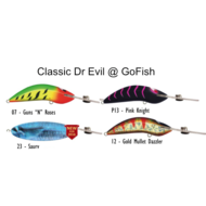 Classic Dr Evil Pink Knight 90mm lure