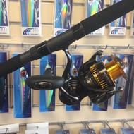 Daiwa Certate HD 4000 spin reel & Daiwa Saltist coastal SAC70H spin rod