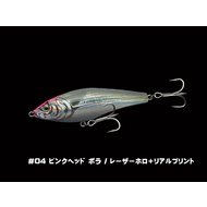 Little Jack lures Little jack dead slow slalom #04 pink head bora laser