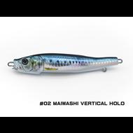 Little Jack lures Little Jack Metal Adict-04 100g  #02 MAIWASHI VERTICAL HOLO